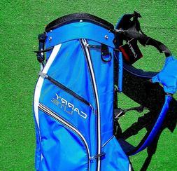 Michelob Ultra Logo Golf Bag Wilson Carry Lite Blue Adult NE