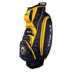 Team Golf Military Navy Victory Golf Cart Bag, 10-Way Top wi