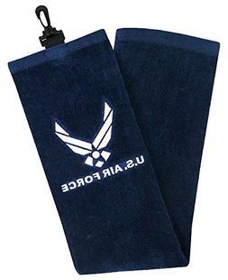 Hot-Z Golf Military Tri Fold Towel US Air Force