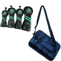 Mini Golf Club Carrier Bag Holder Wood Head Covers Guard Pro
