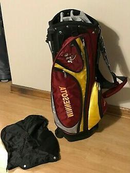 minnesota golden gophers stand golf bag new