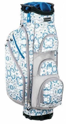 Miss Bennington Lite Golf Cart Bag, Brand New - Blue Floral