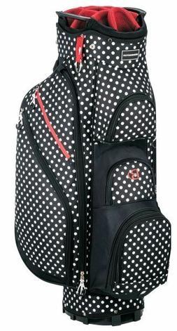 Miss Bennington Lite Golf Cart Bag, Brand New - Polka Dot