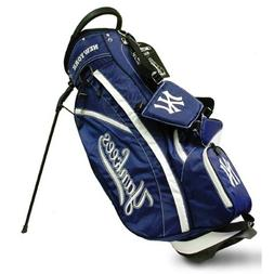 MLB New York Yankees Fairway Stand Golf Bag, Navy