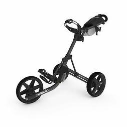 Clicgear Model 3.5+   3-Wheel Golf Push Cart  Charcoal/Black
