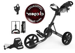 Clicgear Model 8 Push Cart-Charcoal