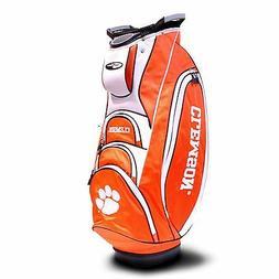 Team Golf NCAA Clemson Tigers Victory Golf Cart Bag, 10-way