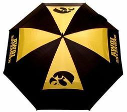 """Team Golf NCAA Iowa Hawkeyes 62"""" Golf Umbrella with Protecti"""