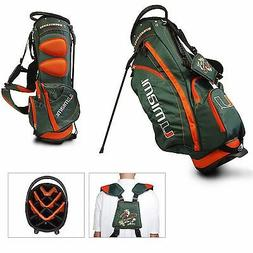 Team Golf NCAA University of Miami Hurricanes Stand Golf Bag