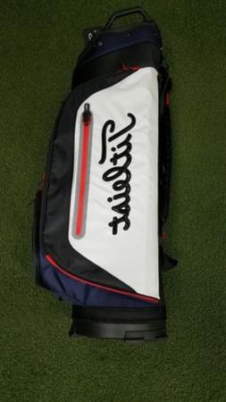 New Titleist 14-Way Deluxe CB Club Golf Cart Bag Navy/White/