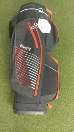 New Ping 14-Way Traverse Golf Cart Bag 5.5 Lbs Black/Red