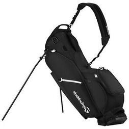 NEW TaylorMade 2017 Flextech Stand Bag - Black - 1 Side Cust