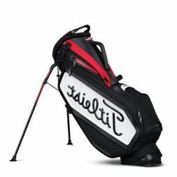 NEW 2017 Titleist Golf Staff Stand Bag TB7SXSF-061 Black Red