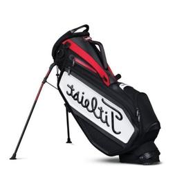 NEW 2017 Titleist Golf Staff Stand Bag TB7SXSF-061 Black Red