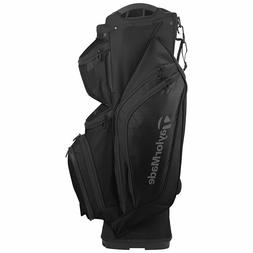 New 2017 Taylormade Supreme Cart Golf Bag - Black - 14 way