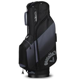 "NEW 2018 CALLAWAY CHEV Golf Cart Bag, BLACK/TITANIUM, 10"" To"