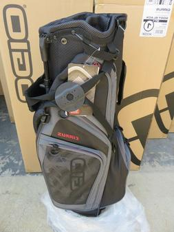 NEW Ogio 2018 CIRRUS SOOT BLACK 7 Way Divider Carry / Stand