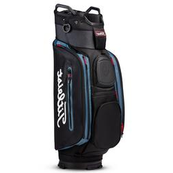 New 2018 Titleist Golf Club 14 Cart Bag TB8CT6-002  Blk/Blk/