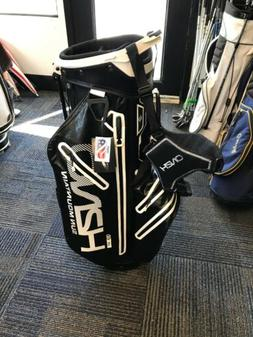 NEW 2018 Sun Mountain H2NO Lite Golf Stand Bag - Black/White