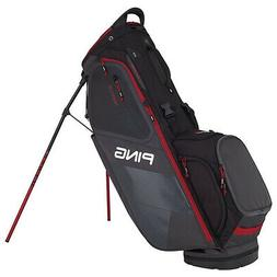 NEW 2018 PING HOOFER STAND BAG GRAPHITE/BLACK/RED
