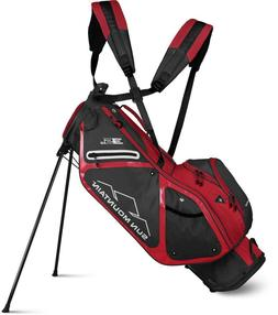 NEW 2019 SUN MOUNTAIN 3.5 LS STAND GOLF BAG STEEL RED 4 WAY