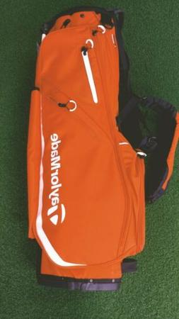 New 2019 Taylormade Flex Tech 5-Way Golf Stand Bag Orange