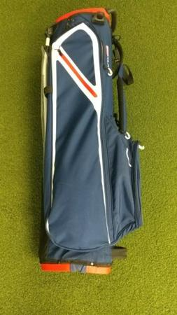 New 2019 Taylormade Flex Tech Lite 4-Way Golf Stand Bag Blue