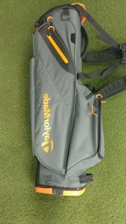 New 2019 Taylormade Flex Tech Lite 4-Way Golf Stand Bag Grey