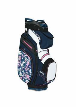 New 2019 Callaway Golf Uptown Org 14-Way Cart Bag COLOR: Flo