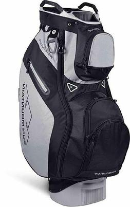 NEW 2019 MENS SUN MOUNTAIN PHANTOM CART GOLF BAG BLACK CEMEN