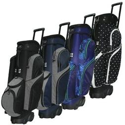 NEW RJ Sports Spinner X Deluxe Wheeled Golf Cart Bag - Pick
