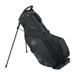 NEW 2019 Wilson Staff Feather Black Golf Stand Bag 5-Way Div