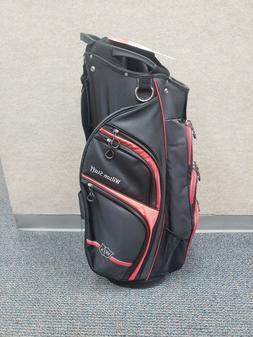 NEW 2019 Wilson Staff Xtra Golf Lightweight Cart Bag Black/R