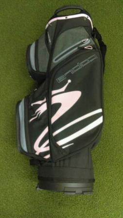 New 2019 Cobra Ultralight 14-Way Golf Cart Bag Black/Gray/Li