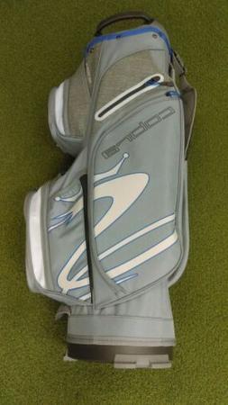 New 2019 Cobra Ultralight 14-Way Golf Cart Bag Gray/Blue   5
