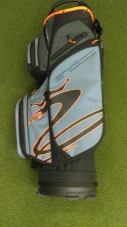 New 2019 Cobra Ultralight 14-Way Golf Cart Bag Black/Gray/Or