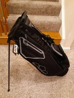 New 2021 Sun Mountain 3.5LS Stand Carry Golf Bag Black/Grey