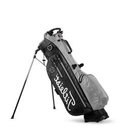 New Titleist 4Up StaDry Stand Golf Bag Black / Sleet  Free S