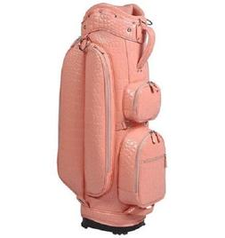NEW OUUL ALLIGATOR ASIA LADIES BAG PINK 5 Way Divider CART G