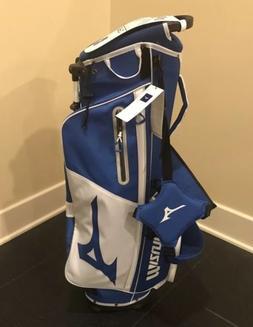 New Mizuno BR-D3 Stand Bag Staff Blue / White