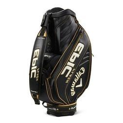 "NEW Callaway Golf Epic Flash Star Staff Bag 10"" 6-way Top Bl"