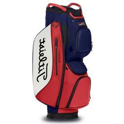 NEW Titleist Cart 15 StaDry Navy/White/Red Golf Cart Bag