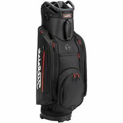 NEW Titleist Club 7 Black/Black/Red Lightweight Cart Golf Ba