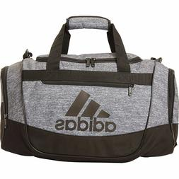 NEW Adidas DEFENDER III Small Duffel Bag Onix Jersey/ Black