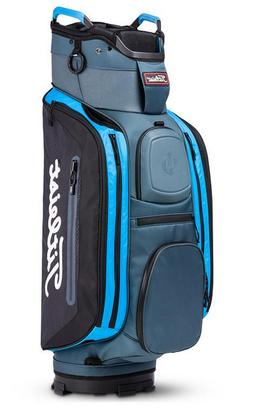 NEW Titleist Deluxe Club 14 Cart Golf Bag 2018 Black Blue 14