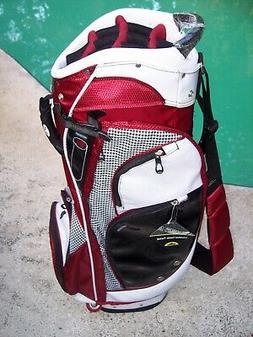NEW Sun Mountain Diva Ladies Cart Golf Bag Hound Ears Club L