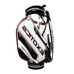 New Tour Edge Exotice CB Pro Golf Staff Cart Bag 4-way Top W