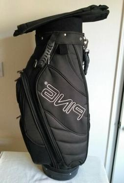 NEW PING FRONTIER CART/CARRY GOLF BAG Never used 6 dividers
