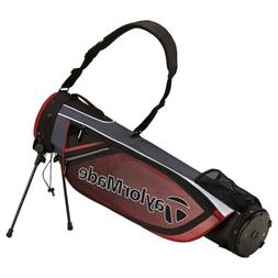 New TaylorMade Golf- 2016 Quiver Stand Bag Black/Red B117740