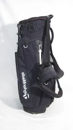 New! TaylorMade Golf 2017 FlexTech Flex Tech Black Stand Bag